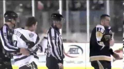 2013 AHL Outdoor Classic Highlights - Bears vs Penguins