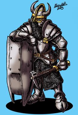 Zwerg fronhost guardsdwarf by shabazik-d67jlf9