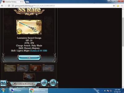 SSR Lumi Sword