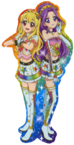Aikatsu-Ichigo & Mizuki
