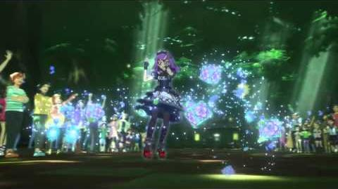 (HD)Aikatsu!-Sumire-Emerald Magic (Episode 144)