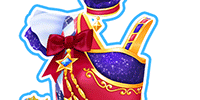 Blue Star Coord/Maroon Blue Star Coord