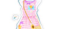 Cotton Coord/Cotton Pink Coord