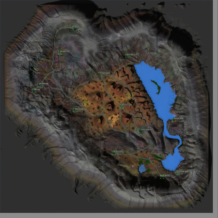 Rock Sector map