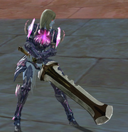 Greatsword equipped