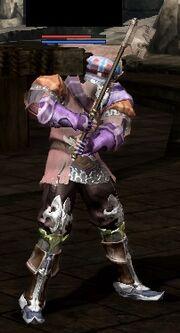 Aethertech wearing Cipher-Blade 2