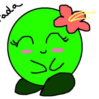 Fanart of Green Kirby by Sari Rae.