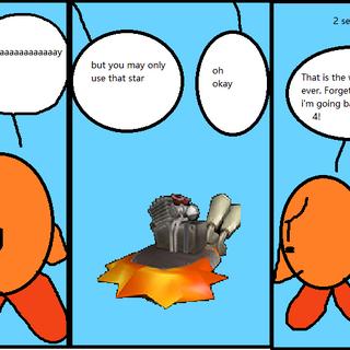 Orange tries to play City Trial