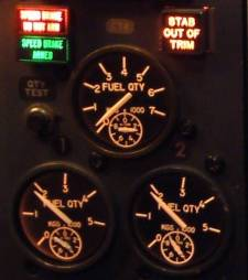 Fuel gauges analogue