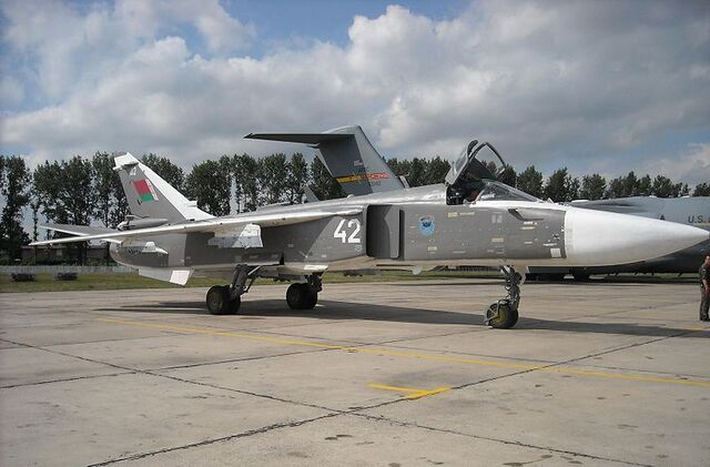 File:800px-Belarusian Su-24 Fencer at Radom AS 2009.JPG