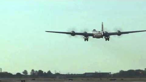 B-29 FIFI Returns to Flight