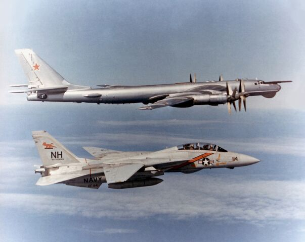 File:F-14 Tomcat VF-114 escorting TU-95 Bear.jpg