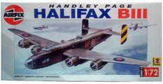 Airfix Handley Page Halifax 172