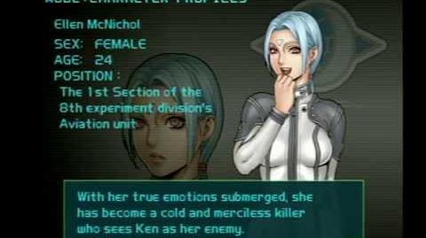 Air Force Delta Strike Character Profile-Ellen McNichol
