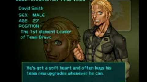 Air Force Delta Strike Character Profile-David Smith