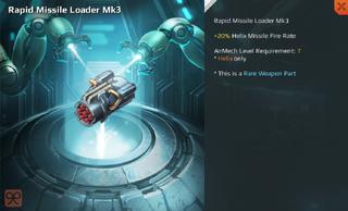 Rapid Missile Loader Mk3 Full