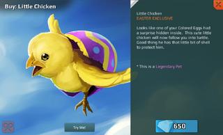 Little Chicken Full