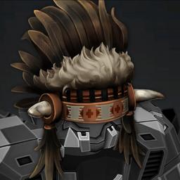 Horned Headdress Crop