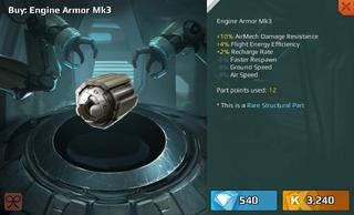 Engine Armour Mk3
