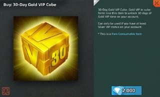 Gold Cube 30 Full
