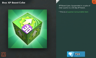 XP Boost Cube-30 Day