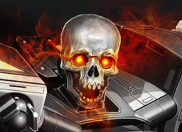 New Silver Skull