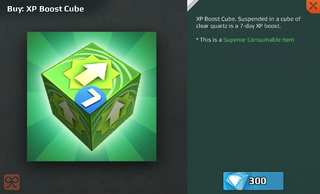 XP Boost Cube-7 Day