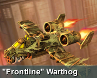 Frontline warthog