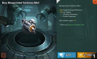 Blueprinted Turbine Mk2