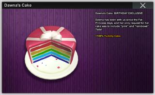 Dawnas Cake