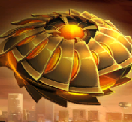 Saucer alien clip