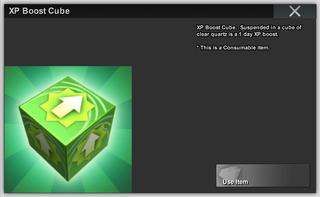XP Boost Cube