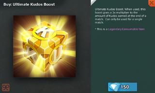 Ultimate Kudos Boost Full