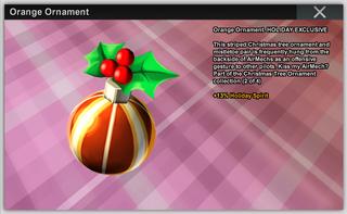 Orange Ornament Full