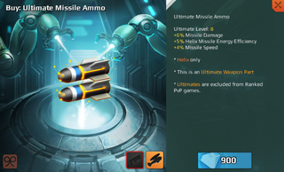 Ultimate Missile Ammo Full