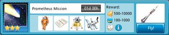 Prometheus Mission-Flight Details