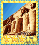 Excavations Ancient Egypt-Stamp