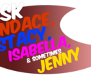 Ask Candace, Stacy, Isabella and Sometimes Jenny Comic