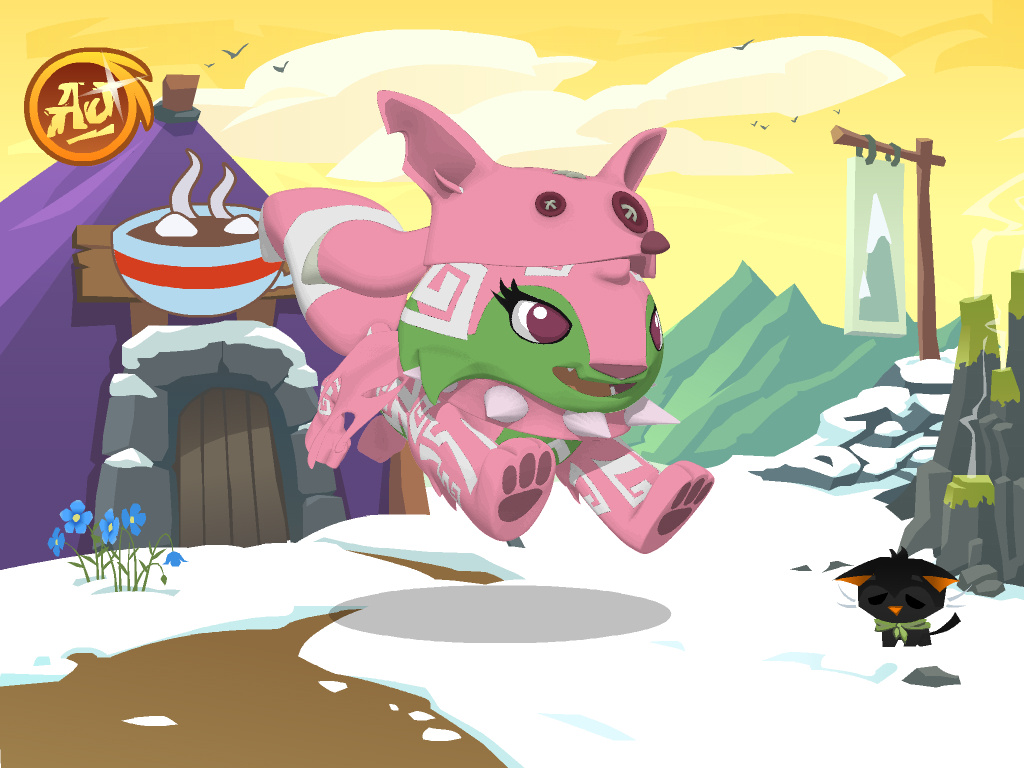 Flaming scales animal jam stories wiki fandom powered - Animaljam wiki ...