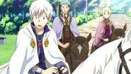 Zen, Mitsuhide & Kiki Surprised S1E11