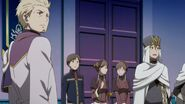 Lord Haruka and Servants watching the Finale