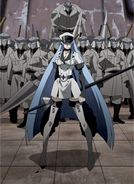 Esdeath and her army 2