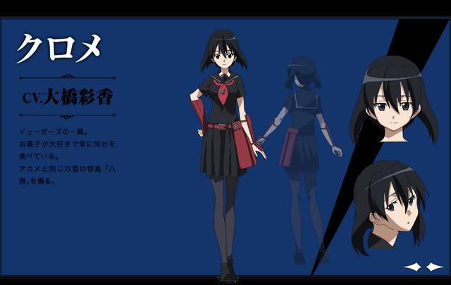 File:Kurome Anime Design.png