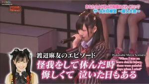 AKB48 Shonichi WatanabeMayuScenario