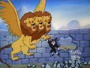 Giant Three Headed Lion 22
