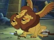 Giant Three Headed Lion 19