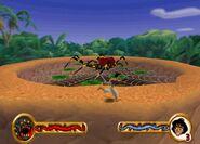 Aladdin vs The Arachnid