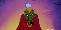 Green-Skinned Man