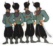 Queen Tatiana's Cossacks