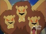 Giant Three Headed Lion 12